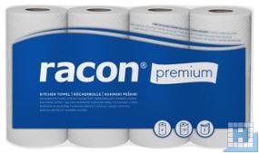 Küchenrollen Premium 3lg. weiß 51Blt/Rll 25x22cm, 48Rll/Pack