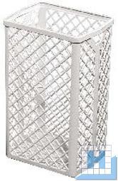 Abfallkorb profix k-waste weiß, 500x320x250mm