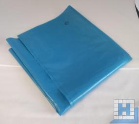 Abfallsack ca. 225L blau 60my LDPE lose 100St/Krt, 1000x1250mm