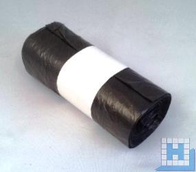 Müllbeutel, 30L, grau, 6my, 500x600mm, HDPE, (20Rllx50St/Krt)