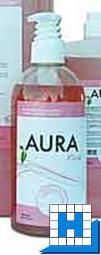 Aura Rosé 500ml Handwaschlotion, Pumpspender, (9Fl/Krt)
