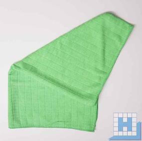 Bodentuch Mikrofaser grün, 50x60 cm, (10Stck/Pck)