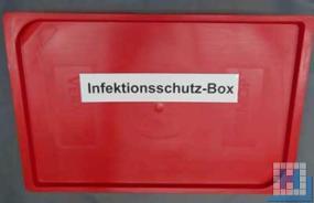 Vermop Deckel rot für Box 5/15/35 L ohne Dichtung