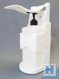 Desinfektionsmittel-Spender mit Armhebel, 140x115x285mm
