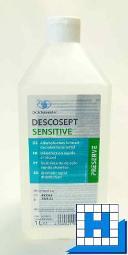Descosept Sensitive 1L, Schnelldesinfektion (10Fl/Krt)