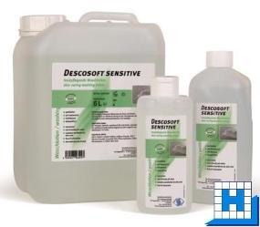 Descosoft Sensitive 1L, Hautpflegende Waschlotion parfümfrei (12Fl/Krt)