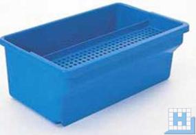 Desinfektionswanne blau, 35 L