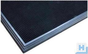 DESI TRAX - Desinfektionsmatte, Farbe: schwarz, Matte: 61 x 81cm