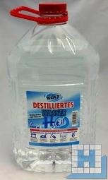 Destilliertes Wasser entmineralisiert nach VDE 0510 (4x5L/Krt)