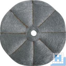 Edelstahlpad INIOX Ø410mm, Kristallisieren H181