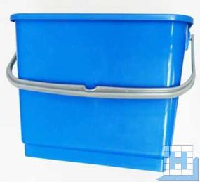 Eimer 6L blau, rechteckig (L22,5xT17,5xH22cm)