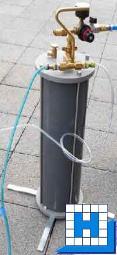 Strato-Entsalzungsgerät 6 Liter, (1Tag-Filter), inkl. Harz/ Testgerät/ Versand- box/Siebsack