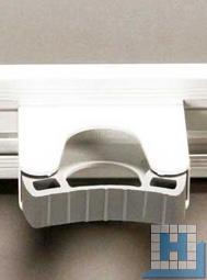 Ersatz-Stielhalterung, f. Alu-Geräteleiste, 70x35x75mm