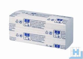 Handtuchpapier 21,2x22cm 2lg. hochweiß, Zellstoff Interfold, 3150 Blatt/Kart