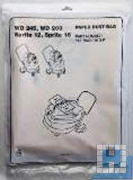 Nilfisk-Filtertüten, für GWD 335/350/375/WD245/260 (3 Stck/Pack)