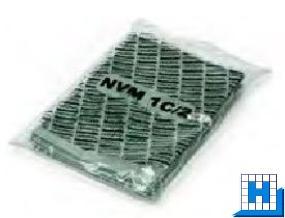 Papier-Filterbeutel NVH/NVM-1C/2 2-lagig 10 St/Pack (Henry/Nuf1500/