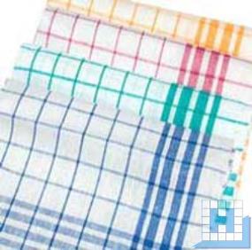 Geschirrtuch Dessin 1221 Baumwolle, gelb, 50x70cm, 10Stck/VE