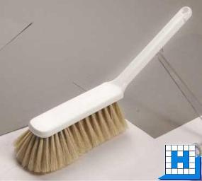 Handbesen blonde Haarmischung 40/60, 310x40x50mm