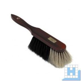 Handfeger 30 cm Holz/Teak-farbig/Naturhaar