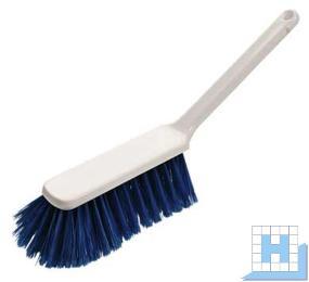 Handbesen PBT blau geschlitzt, Ø 0,25mm weich, 310x40x90x50mm