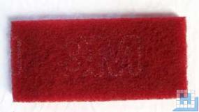 3M Handpad-Super rot, 117x254x25mm