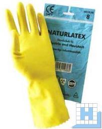 Latex Handschuh Standard gelb Gr 8, 30cm (12Paar/Pack)