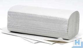 Handtuchpapier 25x23cm 1lg natur, ZZ-Falz, Plus, 5000 Blt/Krt (V-Falz)