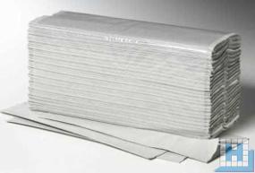 Handtuchpapier 25x50cm 1lg. natur, C-Falz, Plus, 2400 Blatt/Krt
