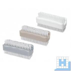 Handwaschbürste Kunststoff doppelseitig PP 10 cm