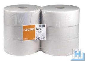 Toilettenpapier Jumbo, 1lg. 470m, naturweiß VE: 6 Rollen, (D25/6cm)