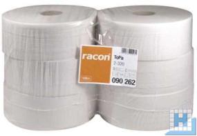 Toilettenpapier Jumbo, 2lg., 9,7cmx320m, naturweiß VE: 6 Roll/Pack, (D26/6cm)