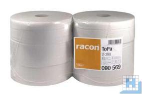 Toilettenpapier Jumbo, 2lg. 380m, naturweiß VE: 6 Roll/Pack, (D29cm)
