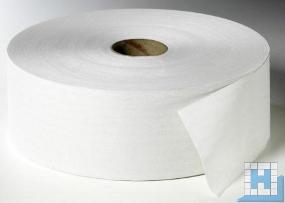Toilettenpapier Jumbo, 2lg. weiß, 380m, 6 Rll/Pack, ca. Ø 26,5cm