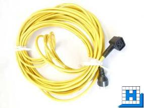 Zuleitung 3-adrig, 3x1,5mm² 20m gelb, (TT3450/4045)