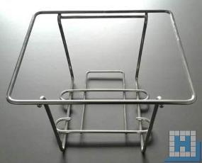 Edelstahl Halterung für 10L Kanister 235x200x175mm