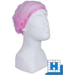 PP-Klipphauben, pink 52cm 100St/Pack