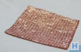 Kupferlappen ca 15x15cm, 25St/Pack (16Pck/Krt)