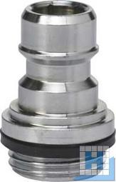 Quickkupplung Ø15,5 mm, AG 1/2