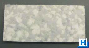 Melamin Hand-Pad, 115x250x30mm, grau/weiß, (Vliesrücken)