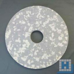 Melamin Plus-Pad, grau/weiß, Ø406mm (16