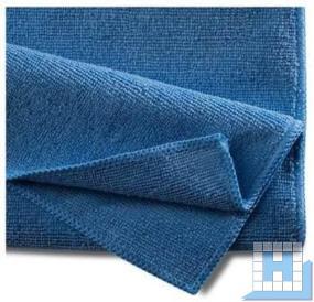 Mikrofasertuch Basic 40x40cm blau