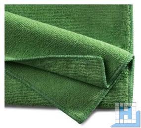 Mikrofasertuch Basic 40x40cm grün