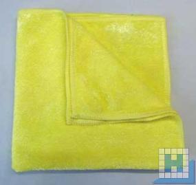Mikrofaser-Tuch gelb 40x40cm