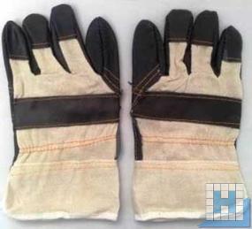 Möbelleder-Handschuh Gr. 10, gefüttert