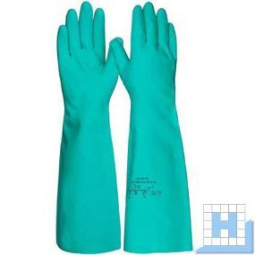 Nitril 45 cm lang grün Gr. 10 Chemikalienschutzhandschuh (Trivex)