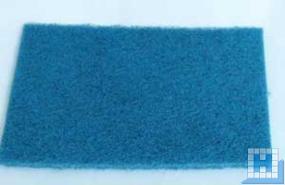 Normal-Handpad, blau, 224x158x11mm, mit Kunststoffkörnung
