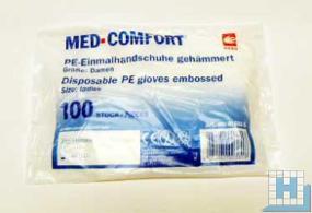 PE-Einmalhandschuhe, (Damengröße), 100 St/Pack