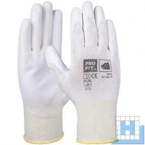 PU-Handschuh weiß Gr. 9 (12Paar/Pack)