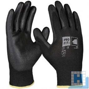PU-Handschuh schwarz Gr. 9 (12Paar/Pack)