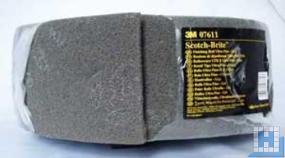 3M Scotch-Brite, grau, S ultra fine, 125mm x 10m, (4Rll/Krt)